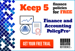 Try Finance and Accounting PolicyPro for free today!