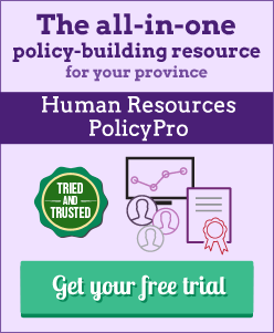 Try Human Resources PolicyPro for free today!