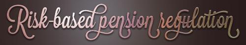 risk-based-pension-regulation