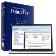 Meet your non-profit and charity compliance obligations with Not-for-Profit PolicyPro
