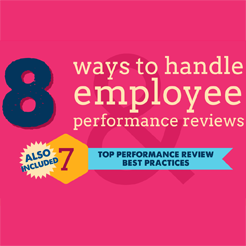 Performance reviews infographic