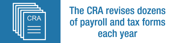 Latest CRA forms