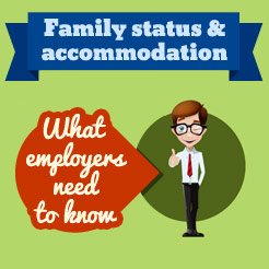 family status infographic