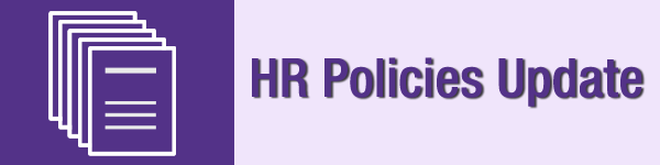 HR policies update